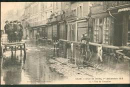 Crue De L'Orne 1er Décembre 1910 La Rue De Vaucelles (photographe) - Caen