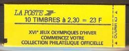 N° 2614-C5 JEUX OLYMPIQUES D'HIVER CONF. 6 **  TRES RARE ET SUPERBE - Usage Courant