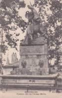 CPA 34 MONTPELLIER, Fontaine Dite Des Chevaux Marins. - Montpellier