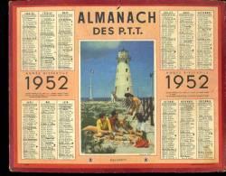 "Calendrier 1952, Phare ""bon Appétit"" - Grand Format : 1941-60"
