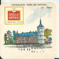 Stella Artois  Kastelenjaar- Annee Des Chateaux    -   Horst - Beer Mats
