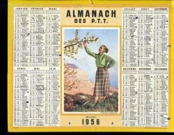 Calendrier 1956 Printemps Arbre En Fleur - Grand Format : 1941-60