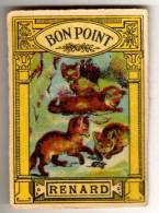 """Image """"BON POINT"""" : Renards - Old Paper"""