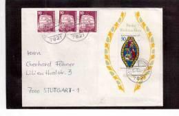 TEM8275  -   BERLINO  POSTAL HISTORY   -   COVER  MICHEL NR. BL. 5 - [5] Berlino