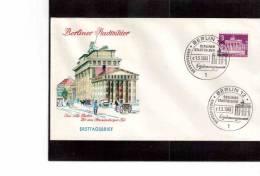 FDC907     -   BERLINO  FDC   MICHEL NR.  231 - [5] Berlin
