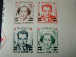 Monaco N°379/382-bloc ND- Neuf * - Monaco