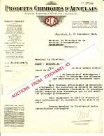 Lettre De 1946 - PRODUITS CHIMIQUES D´AUVELAIS - Non Classés