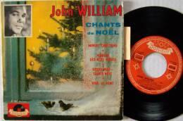 John WILLIAM RARE  EP + Languette  Marche Des Rois Mages EX EX - 45 T - Maxi-Single