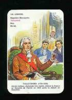 1 Carte De Jeu / TALLEYRAND - Empire - Histoire De France  // IM 69/11 - Old Paper