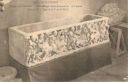 Musée De CAHORS   Sarcophage Gallo-Romain - Cahors