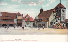 Souvenir German Tyrolean Alps, World's Fair St. Louis, 1904 - Expositions