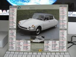 *Citroen DS 19 - Renault R3 ( Prototype 4L - 1961, Calendrier Almanach Du Facteur - J. Cartier Bresson 2008 - - Grand Format : 2001-...