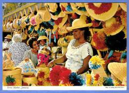 JAMAIKA, THE NATIVE STRAW MARKET - Jamaica