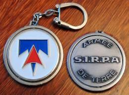 Beau & Grand Porte-clé Du SIRPA Armée De Terre - Army