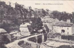 FRANCEW - BOZOULS - RUE DE CHATEAU AU BORD DU GOUFRE - Bozouls