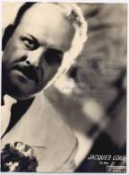 Autographe de Jacques Loar ( Voir description )