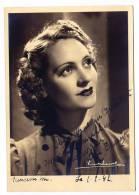 Autographe de H�l�ne Dussart ( Voir description )