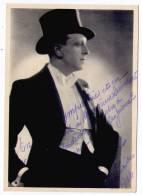 Autographe de H. Talber : Artiste 1942 (1)