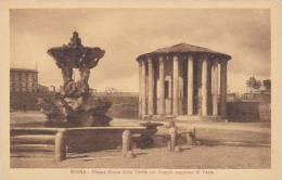 Italy Roma Rome Piazza Bocca della Verita col Templo supposto di