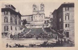 Italy Roma Rome Piazza Spagna Trinita dei Monti