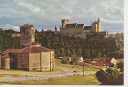 (AKZ336) SEGOVIA. IGLESIA DE LOS TEMPLARIOS Y ALCAZAR - Segovia