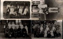 Lot 12 Cartes Photos D'un Hopital Militaire 1ère Guerre Mondiale - Photos