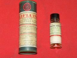 """DEUX   MEDICAMENTS ANCIENS 1950 """" BILIFLUINE"""" ET """"OUABAINE ARNAUD """"    METIER DOCTEUR  Et  PHARMACIEN - Boxes"""