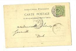 CPA   La Pagote De VAN-MEOU à SONTAY -  Tonkin Ligne PAQ.l'Extréme-Orient     1904