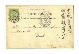 CPA  La Fabriquation Du Papier à Hanoî -  Tonkin Ligne PAQ.l'Extréme-Orient     1904