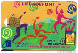 Saint Marteen, US$ 16.75, Nostalgic Communications, Rue. - Antilles (Netherlands)