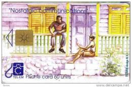 Saint Marteen, US$ 10.00, Chatting On The Veranda. - Antilles (Netherlands)