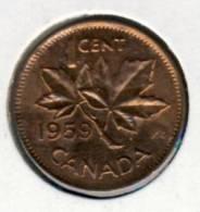 """1959 Canada 1 Cent """"COPPER PENNY"""" In BU Condition # 1 - Canada"""