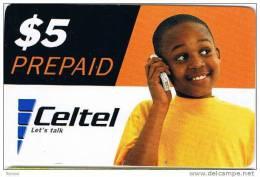 Zambia, $5, Celtel, Let´s Talk, Boy, 2 Scans.