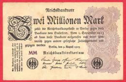 Germany  -  1 Million Marks  - VG/F - Banknote - 1923 / Papier Monnaie - Billet Allemagne - 1 Million Mark