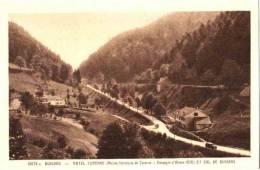 CPA 88 (Vosges) Société Des Sources - Hotel Turenne Et Col De Bussang. Pub 1938 Livre De Visites Médicales 2 Scans - Col De Bussang