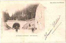 CPA 88 (Vosges) Le Tunnel De Bussang - Côté Alsacien, Précurseur, Belle Animation - Col De Bussang