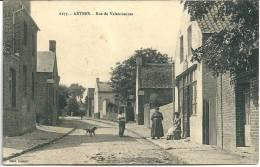 Cpa Artres -Rue De Valenciennes . - Non Classés