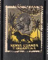 Kenya Tanganika Uganda    -   1935.  Leone E Giorgio V. Leo And George V. - Big Cats (cats Of Prey)