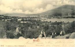 Croatia-----Trogir (Trau)-----old Postcard - Croazia