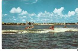 The Halifax River Separates The Mainland And Daytona Beach - Daytona