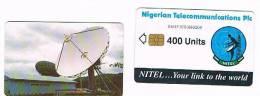 NIGERIA - NITEL (CHIP) - SATELLITE STATION  400 UNITS (DIFFERENT CHIP)        - USED -  RIF. 2503 - Nigeria