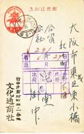 Japanese Occupation Taiwan  1940  Post Office  TAIZHOUG - 1945 Japanese Occupation
