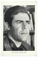 PORTUGAL - AUGUSTO ABELAIRA ( 1926 - 2003 ) - Professor, Novelist, Journalist - 18x26,5 Cm - See Scan And Description - Famous People