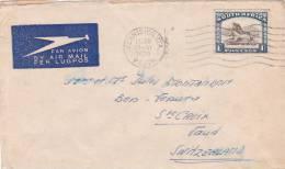 SOUTH AFRICA : Lettre Oblitérée GERMISTON / STA Le 28.VI.1938 - Afrique Du Sud (1961-...)
