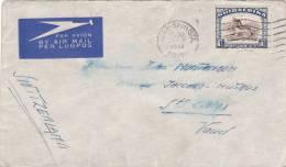 SUIAFRIKA : Lettre Oblitérée GERMISTON Le 31.V.1939 - Afrique Du Sud (1961-...)