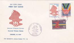 TURQUIE : Montreal Olympic Games - ANKARA 17.7.1976 - Mexique
