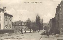 54 - FROUARD - Meurthe Et Moselle - Place De L'Hôtel De Ville - Tramway - Frouard