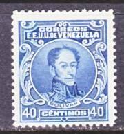 Venezuela 279  Slate Blue  *   1924-39 Issue - Venezuela
