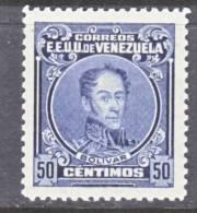 Venezuela 280   *   1924-39 Issue - Venezuela