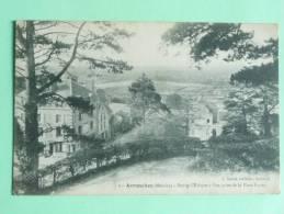 AVRANCHES - Bourg L'évèque, Vue Prise De La Plate Forme - Avranches
